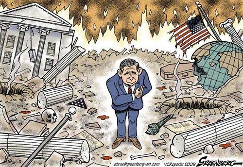 Bush mess
