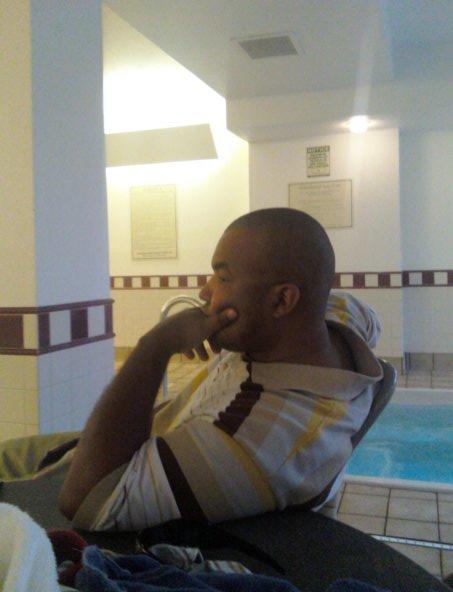 Me at pool