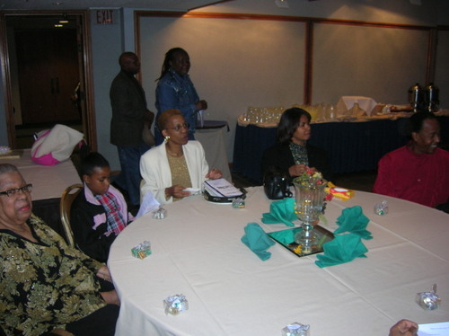 Philadelphia batptist church members  and friends